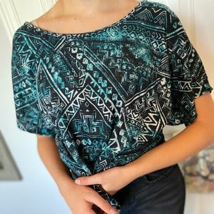 Cute tribal pattern too!